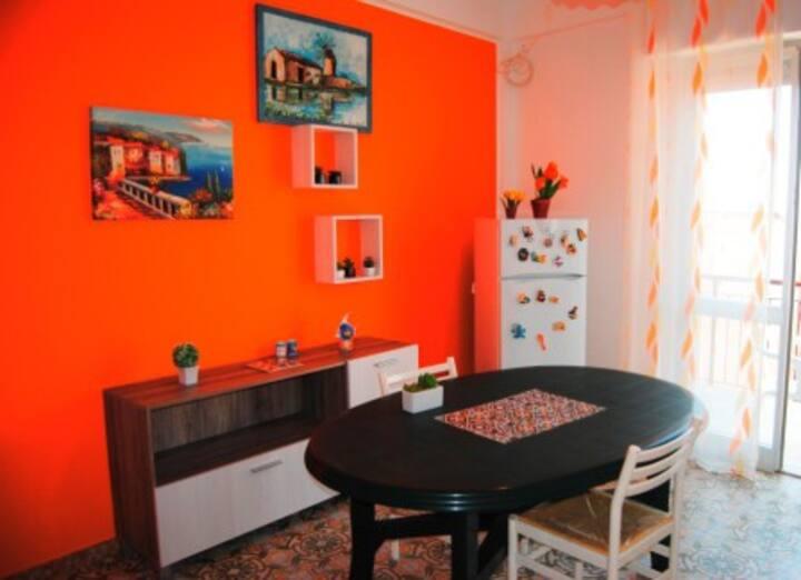 appartamento Arte&Mare con vista mare A