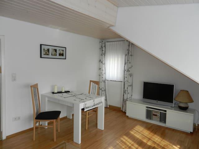Gemütliche Zwei-Zimmer Fewo in Altstadtnähe - Meersburg - Feriehus