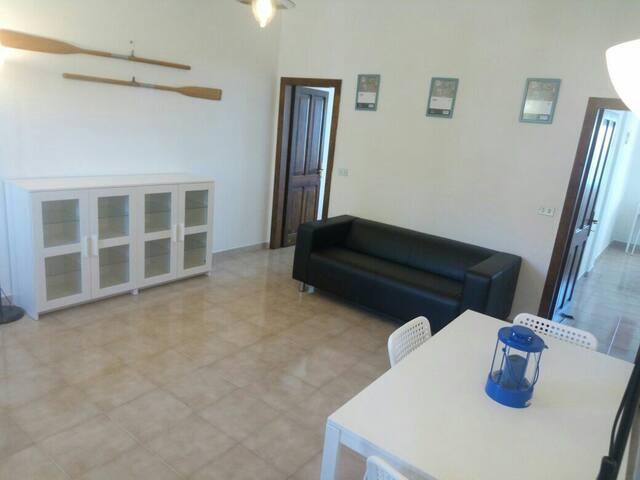 una sala da vivere