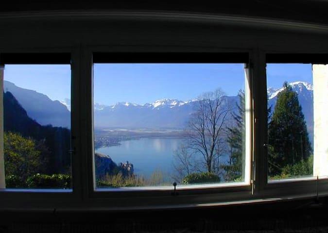 Views, Luxury, Nature and Jazz! - Montreux - Apartamento