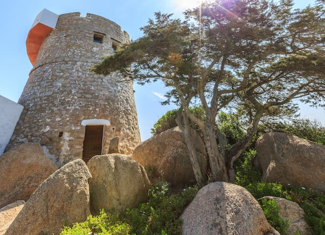 """Love Tower""on the Sea a jewel, wow - Santa Teresa di Gallura - House"