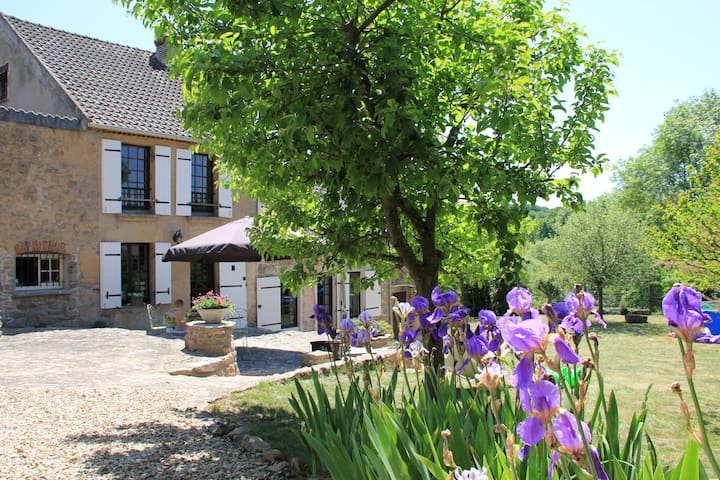 Beautiful house near Vezelay - Island - Ev