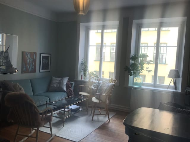 Pretty apartment at beautiful Södermalm