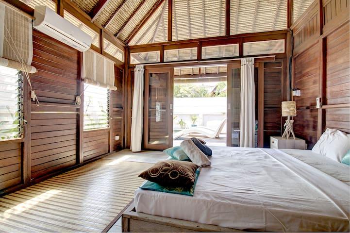 Nusa Lembongan Beach House 2 rooms - Jungut Batu Nusa Lembongan - Дом