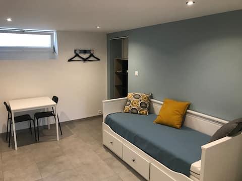 Appartement cosy refait à neuf proche centre