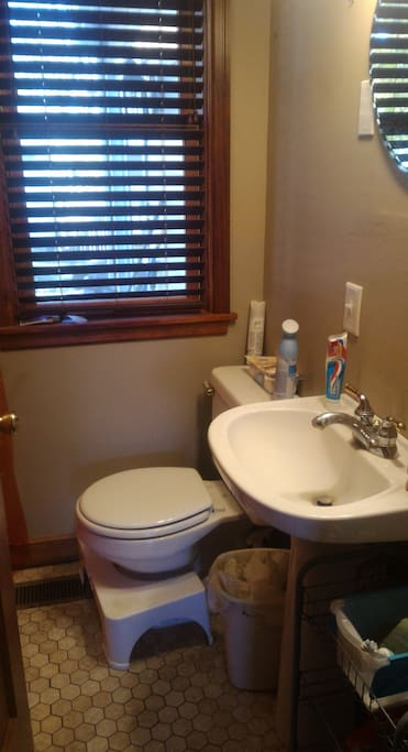Main floor bathroom- full bath