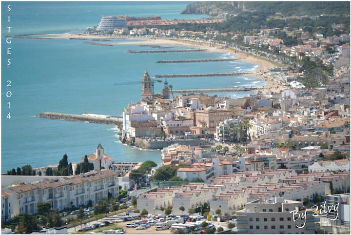 Cozy apartment in Sitges 5 min from the beach