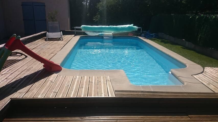 Maison avec accès piscine entièrement équipée