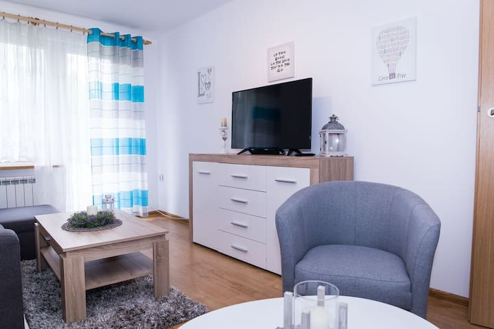 Słoneczna Chata - apartament w sercu Zakopanego