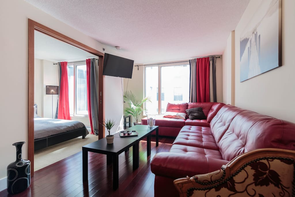 Cozy condo center old mtl old port parking gratuit - Appartement a louer vieux port montreal ...