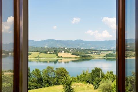 En campagne de Mugello,Toscane 1