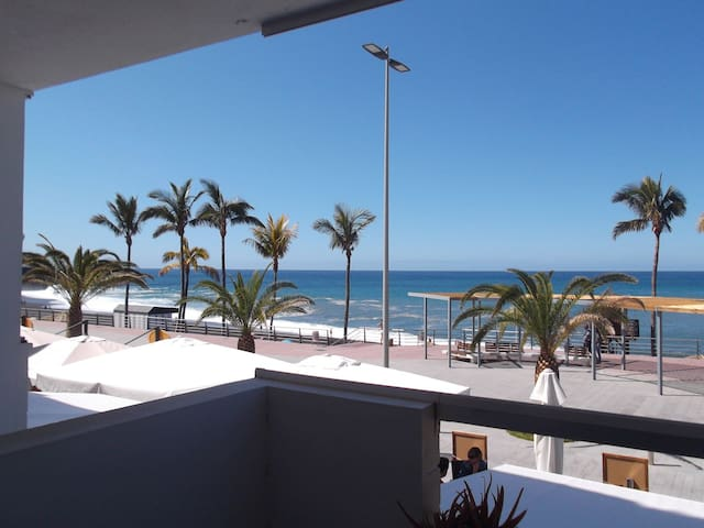 "Flat ""Perla del Mar"" with seaview - Puerto Naos - Apartment"