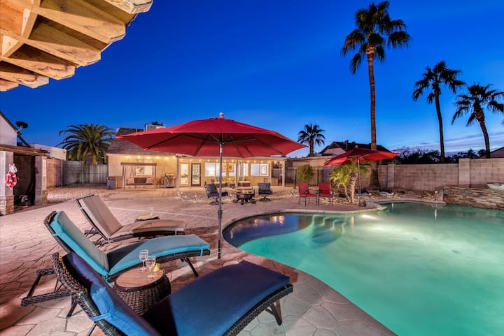 PRIVATE OASIS with the BEST backyard!!!