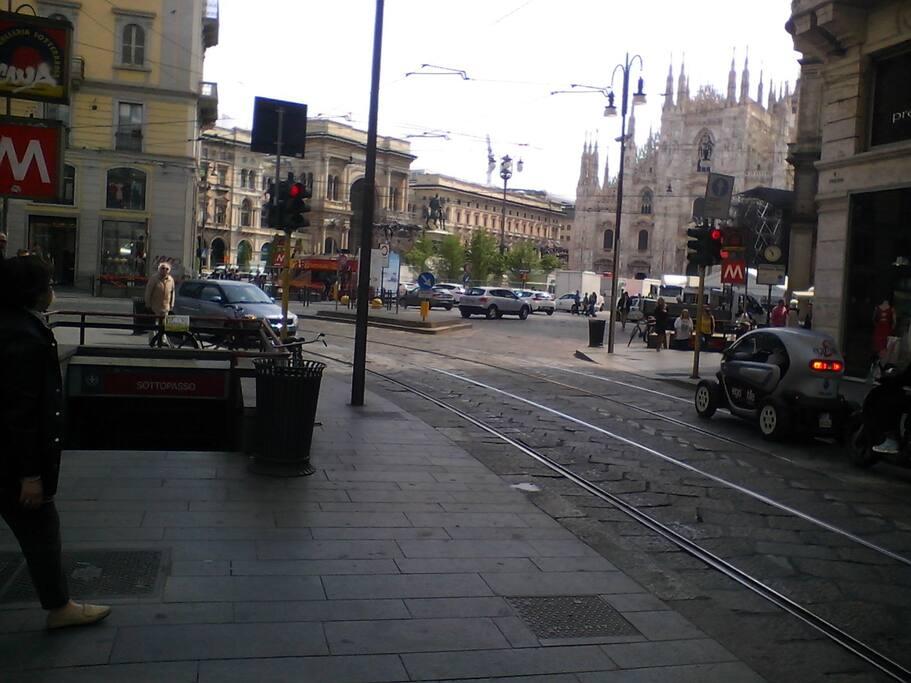 Via Torino, Piazza Duomo