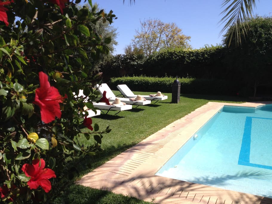 Villa 5 chambres piscine priv e marrakech villas for Piscine privee marrakech
