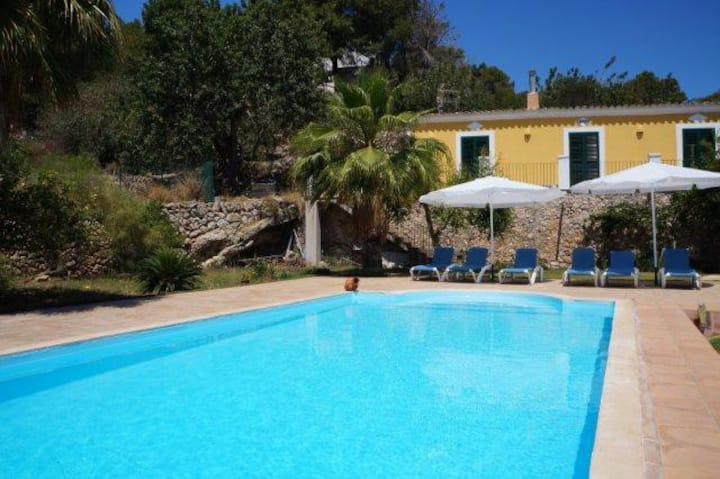 Nice house 8pax in Ibiza with pool