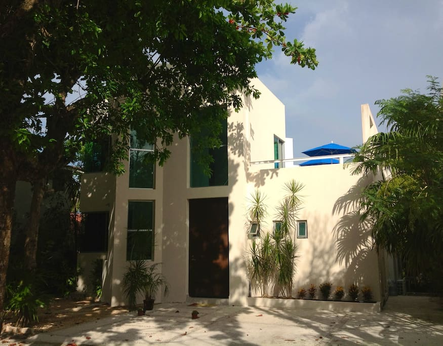 Villa nautilus 39 39 home away from home 39 39 villas for rent for Villas quintana roo