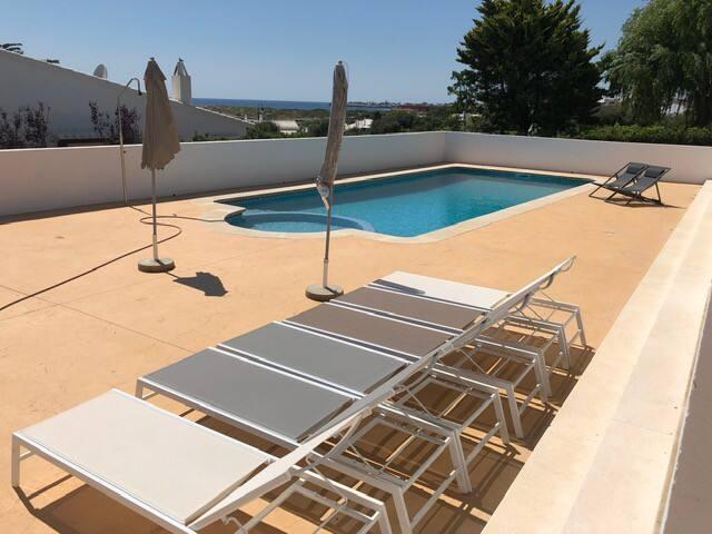 Beautiful renovated villa with triple seaviews.