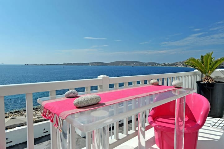 Sea Front Villa-Old Town of Paros - Paros - Wohnung