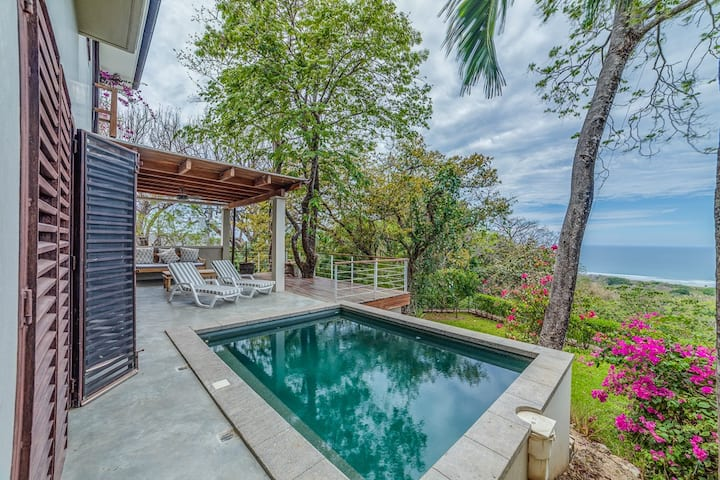 Lovely Home w/saltw. pool, magical view & wildlife