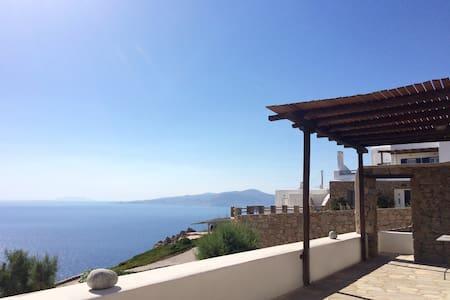 Cozy Villa in Mykonos with wonderful sea view - Faros Armenistis