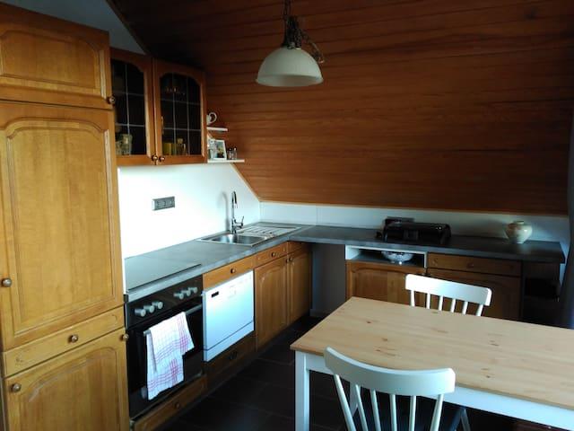 Loggiazimmer mit Küche und Bad in Himmelsthür - Hildesheim - Huis