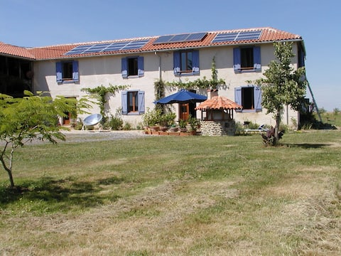 lovely guesthouse, part of a renovated farmhouse