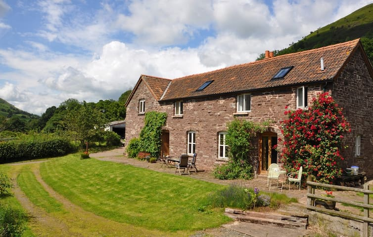 Flagstone Cottage, Broadley Farm - Abergavenny - Casa