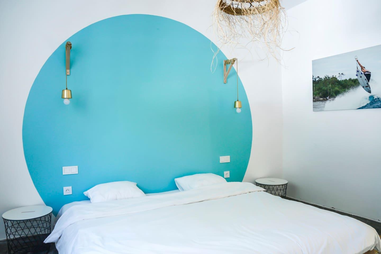ALOHA double/triple room - Beach House Bouznika