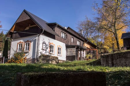 In heart of the Bohemia Paradise - Alpehytte