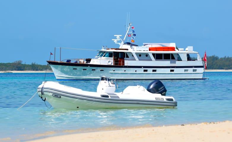 Cruise the Exumas on a 70 ftYacht