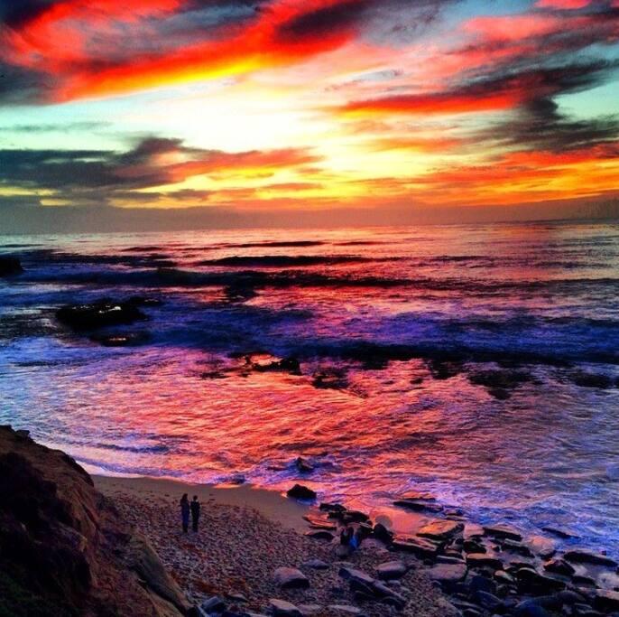 La Jolla sunsets