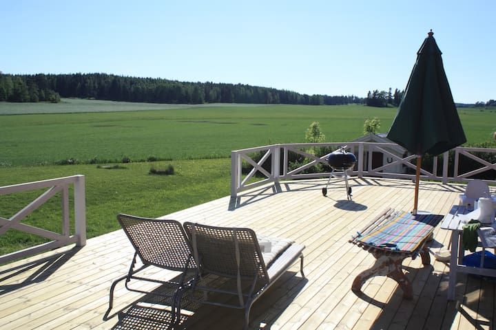 Big countryside home, precious view - Uppsala - House