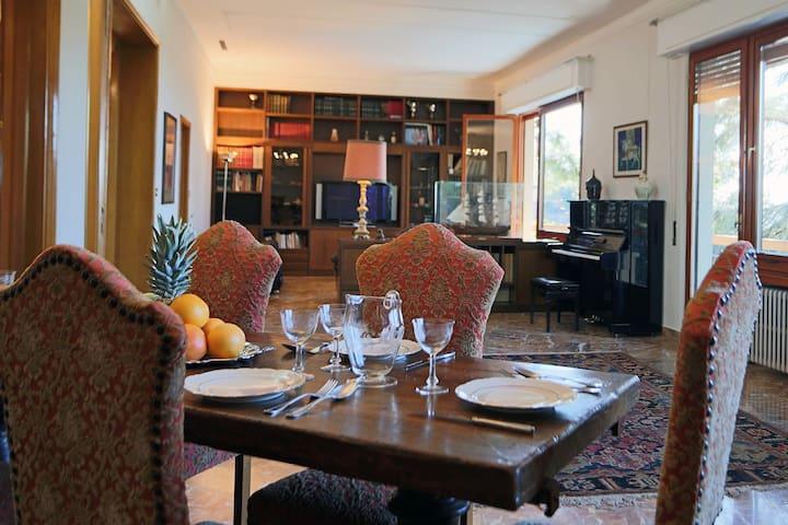 Villa degli Ulivi - Terrace apt.  Giardino - WiFi - Massa Marittima - Lejlighed