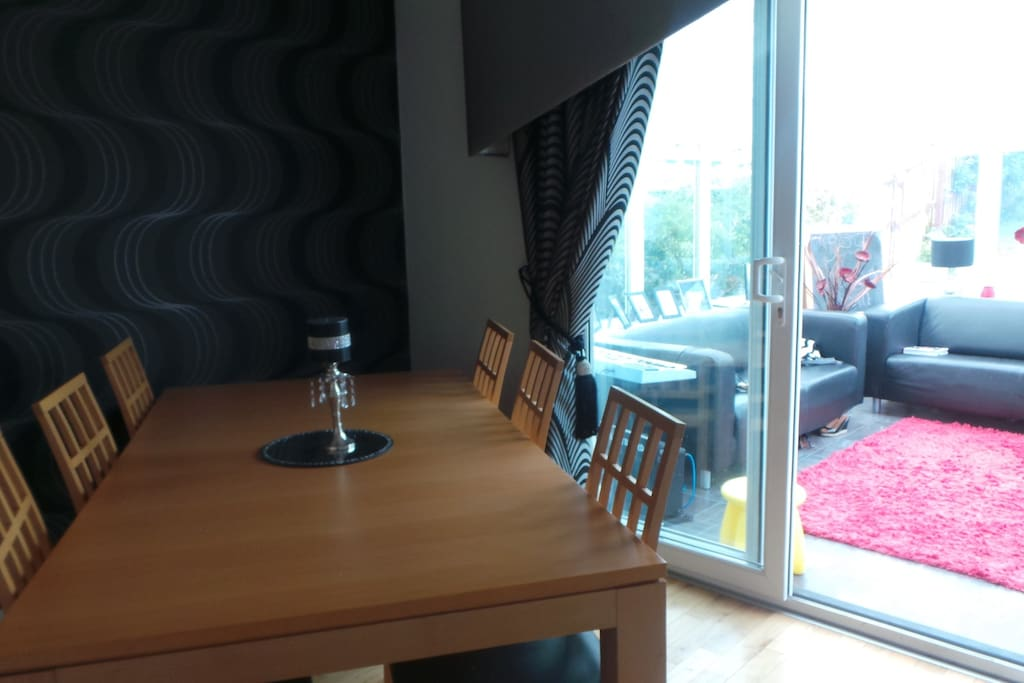 Lovely dining room and separate dining sized kitchen