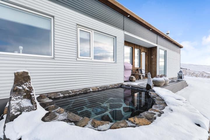 """Skagafjörður: Brekkukot """"sælureitur í sveit"""" Villa"""
