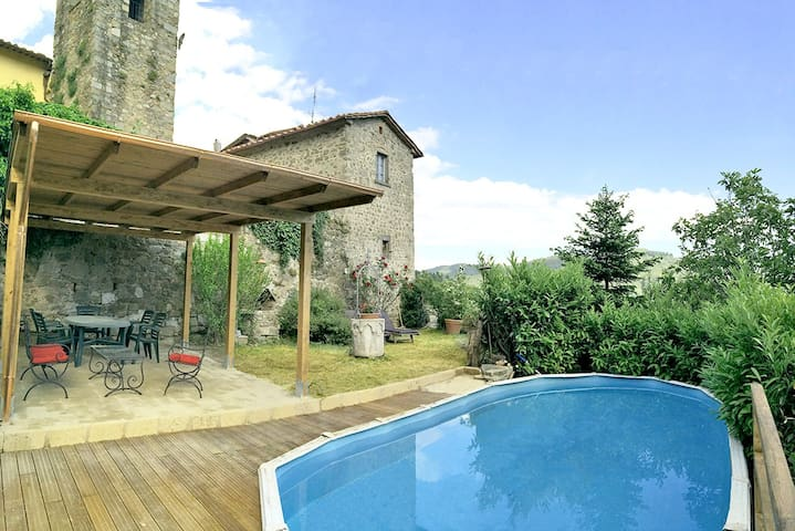 Rustic holiday home in Tuscany-T Ne - Lancio - Lakás