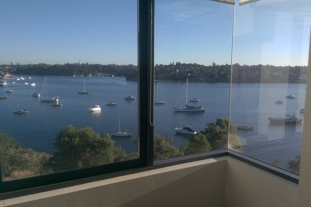 Wake up to this view from your bedroom!