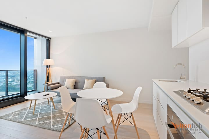 Modern Melbourne CBD one bedroom Apartment 12 - Melbourne - Flat