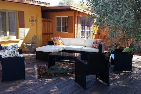 """Marmalade Skies"" Desert Retreat - Twentynine Palms - Σπίτι"