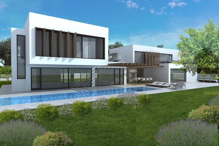 Villa Mon Perin with Indoor and Outdoor Pool