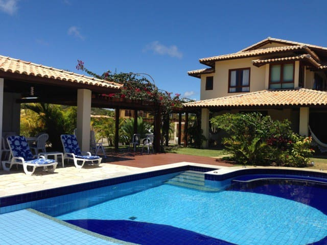 Private  pool, 12 M long, 0.4 - 1,1M  deep