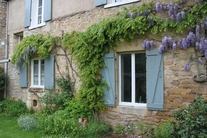 Peaceful retreat in rural Burgundy - Givry, Yonne