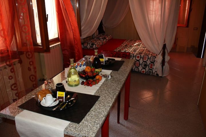 Romantic apartment, wi-fi center Ve