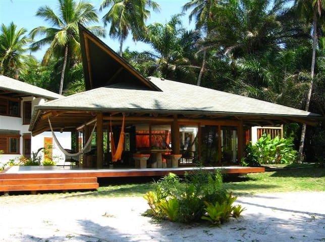 Spectacular beachfront house Bahia  - Ilhéus - Haus