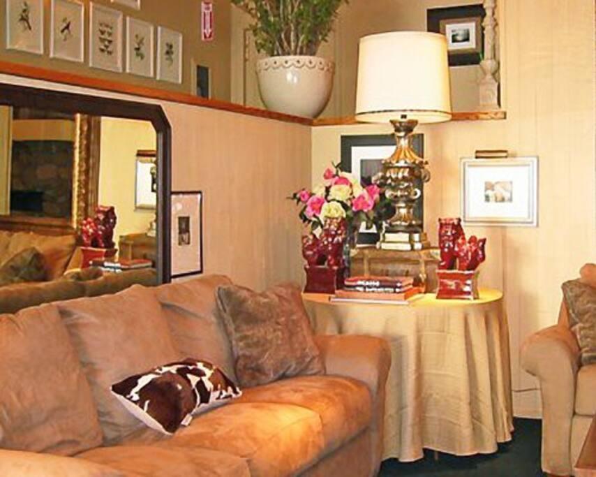 Elegant room furnishings