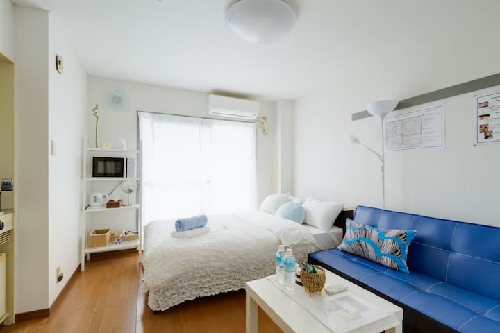 Free WIFI2min from Imamiya staion - 大阪市 - Apartamento