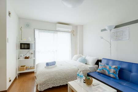 ◎Free WIFI◎2min from Imamiya staion - 大阪市 - Apartament