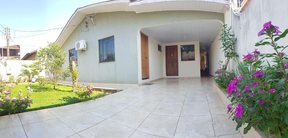 Aconchego do lar.