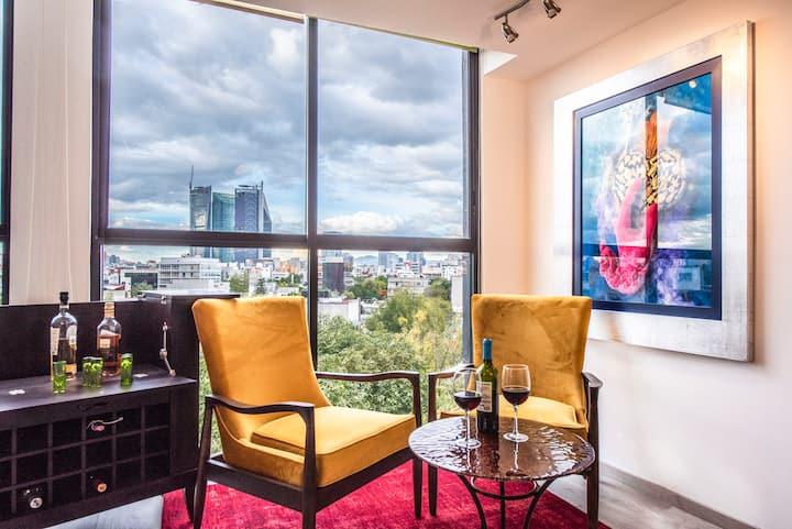 The Best Apartment in Condesa de 135 m2